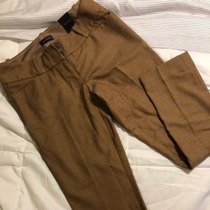 The Limited Brown Pencil Pant - size 0 NWT